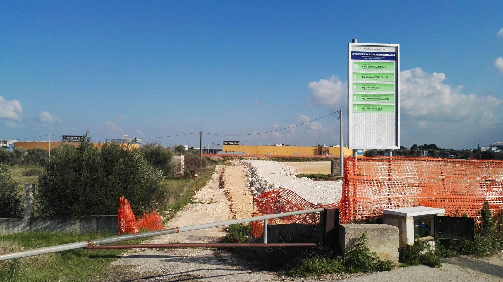 bari espropriato suolo per nuovo centro commerciale il