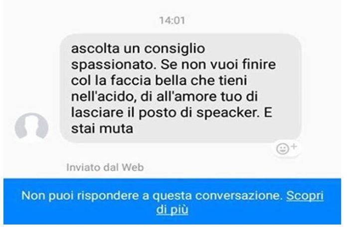 Minacce su Facebook, lascia lo speaker del Bari