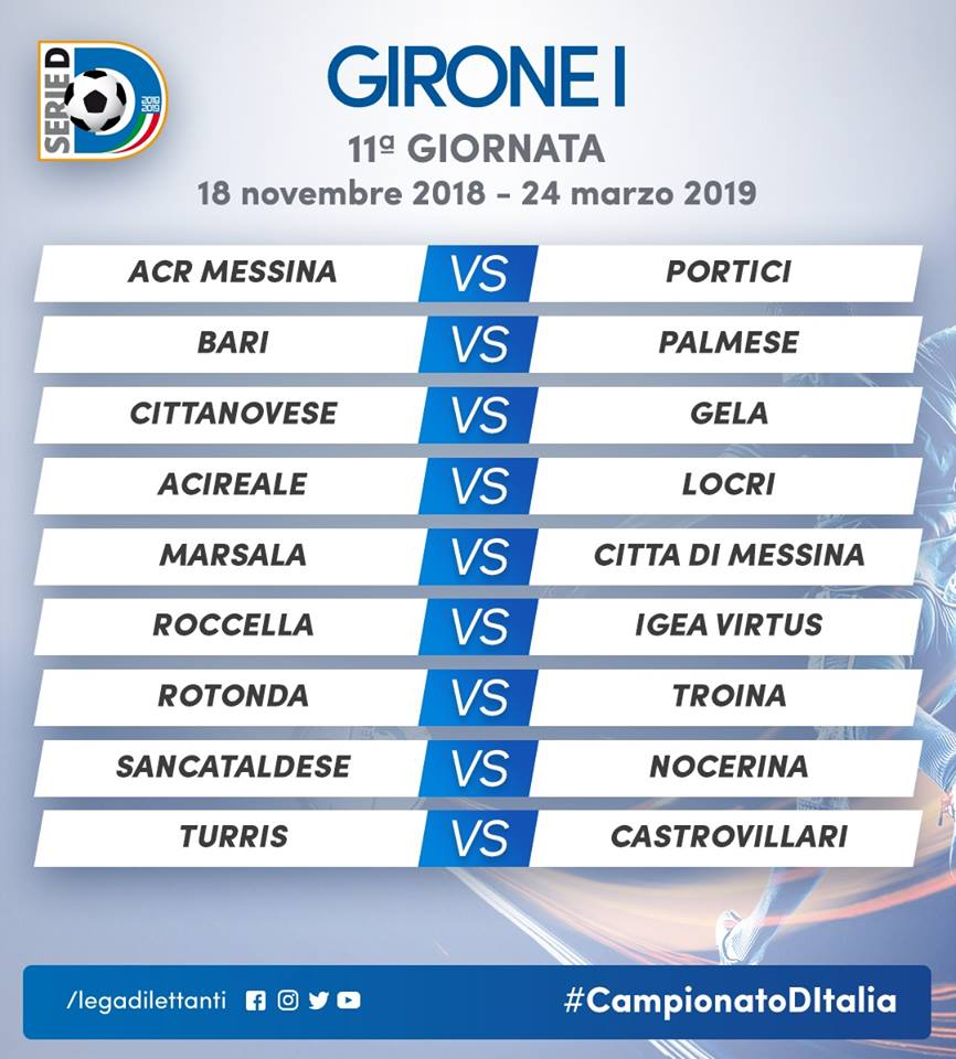Serie D Si Parte Il 16 Settembre Con Messina Bari Prima Al San Nicola Contro La Sancataldese Il Calendario