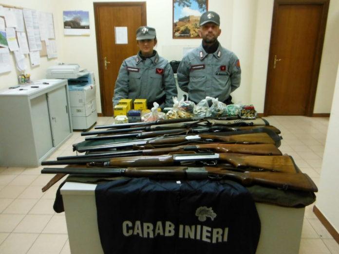 Falsa licenza per la caccia denunciato bracconiere di terlizzi: in