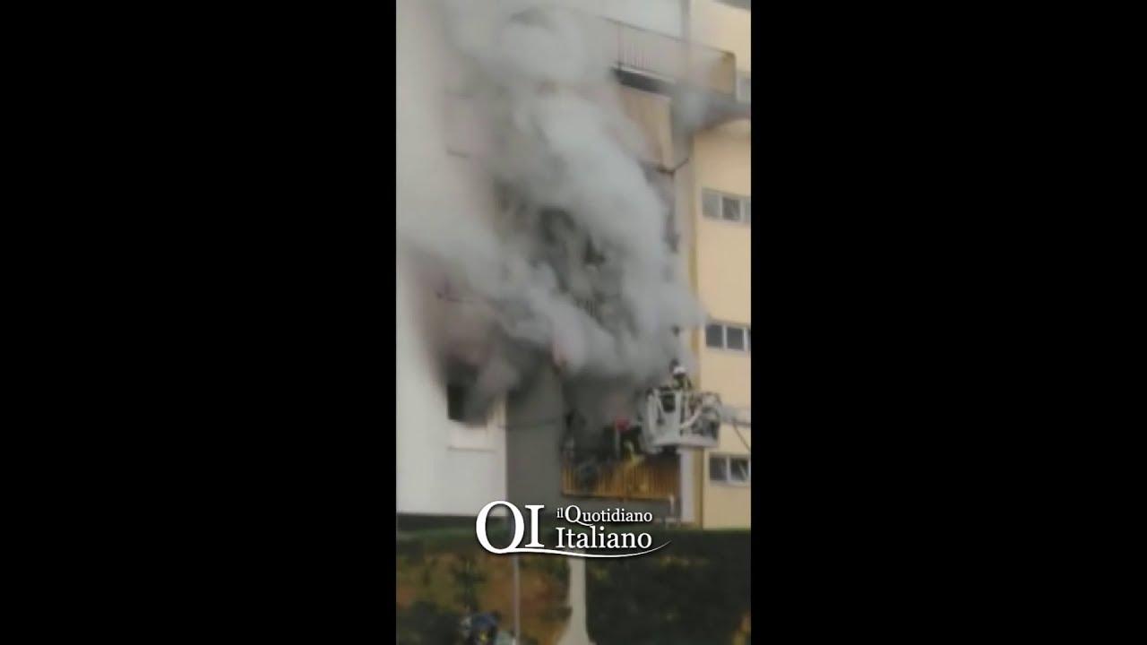 Bari, scoppia incendio in cucina: inquilino si getta dal primo piano in via  Gregorio Ancona - VIDEO