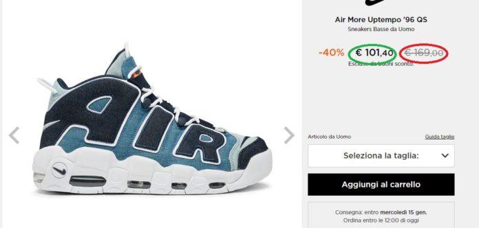 dove posso comprare scarpe nike su internet