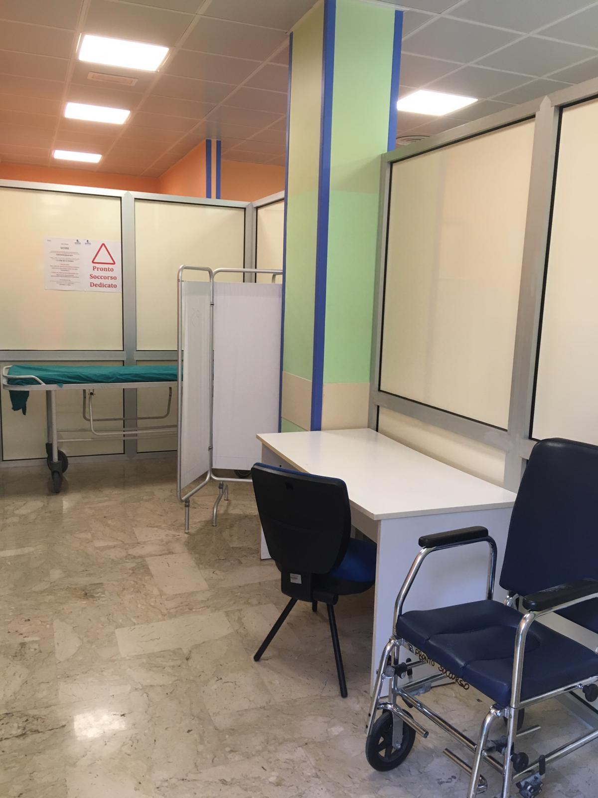 Coronavirus a Bari, Mater Dei pronta all'emergenza: zona ...